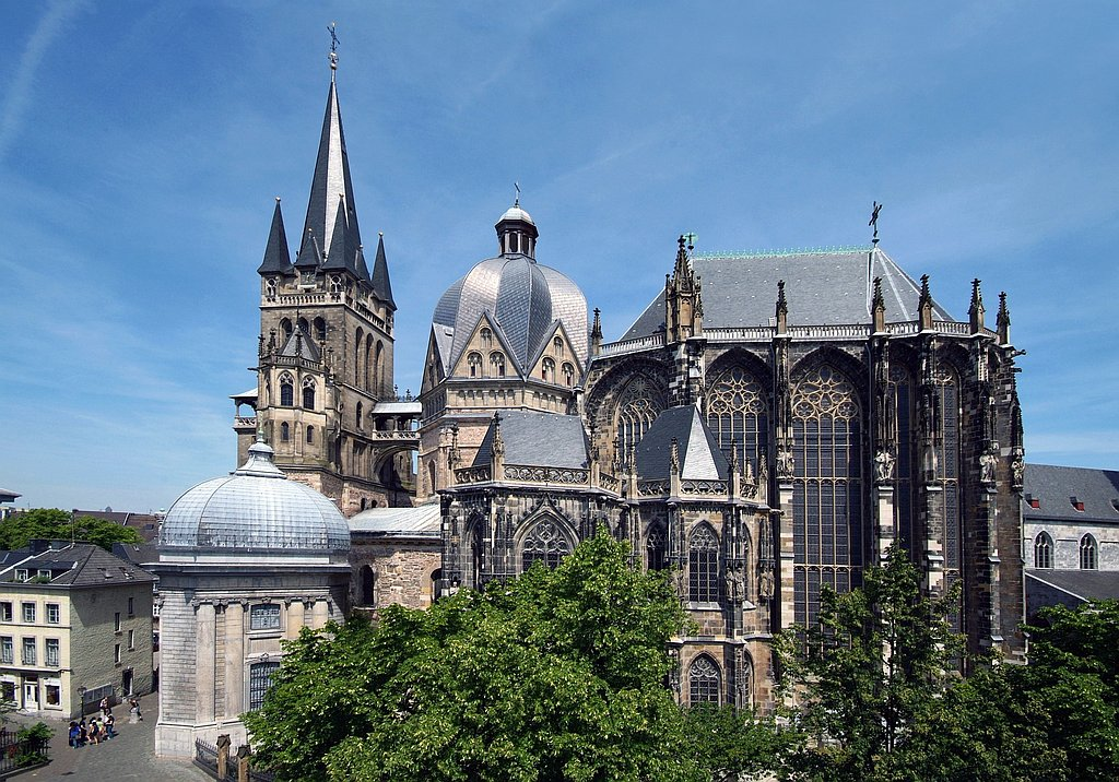 pilgrimage site Aachen Cathedral