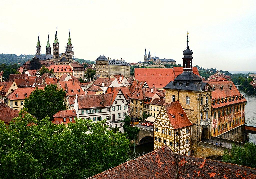 Bamberg Städtetour mit Einkehr im Biergarten