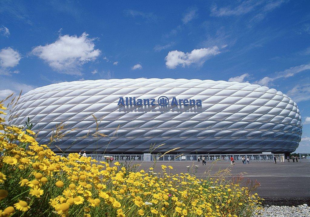 VIP tour at the Allianz Arena Munich