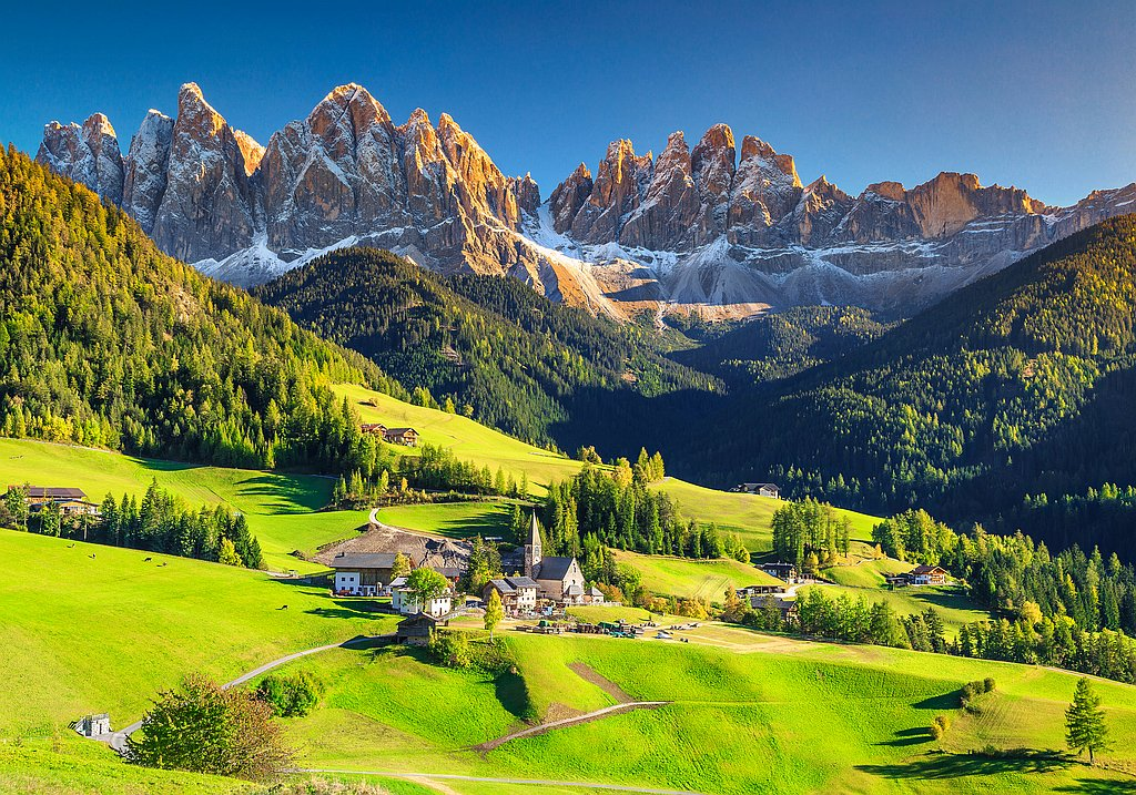 Dolomites in South Tyrol