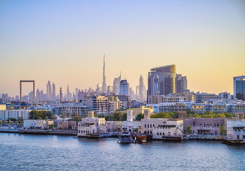 Reise nach Dubai - Blick auf Dubai Creek
