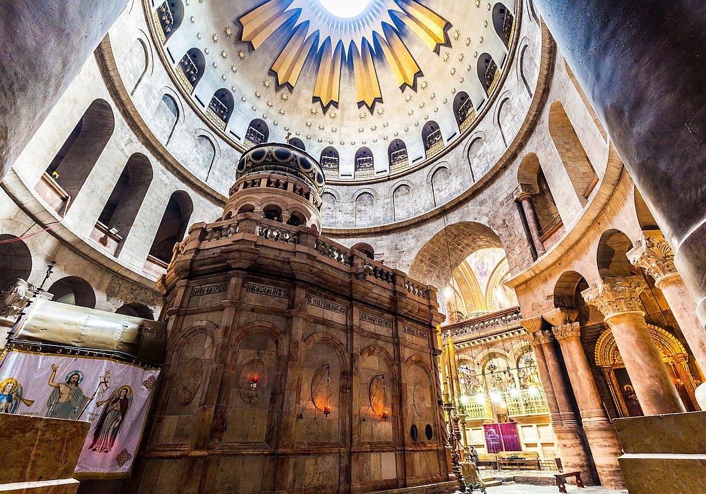 Wallfahrtsort Grabeskirche Jerusalem