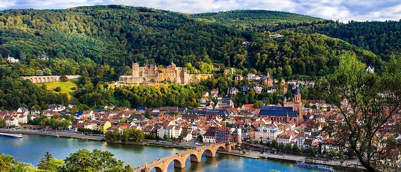 Städtereise Deutschland - Heidelberg