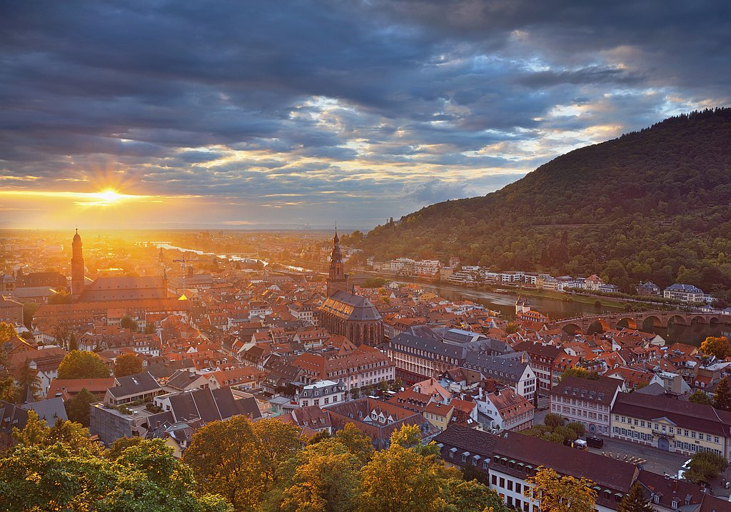 Heidelberg group city tour
