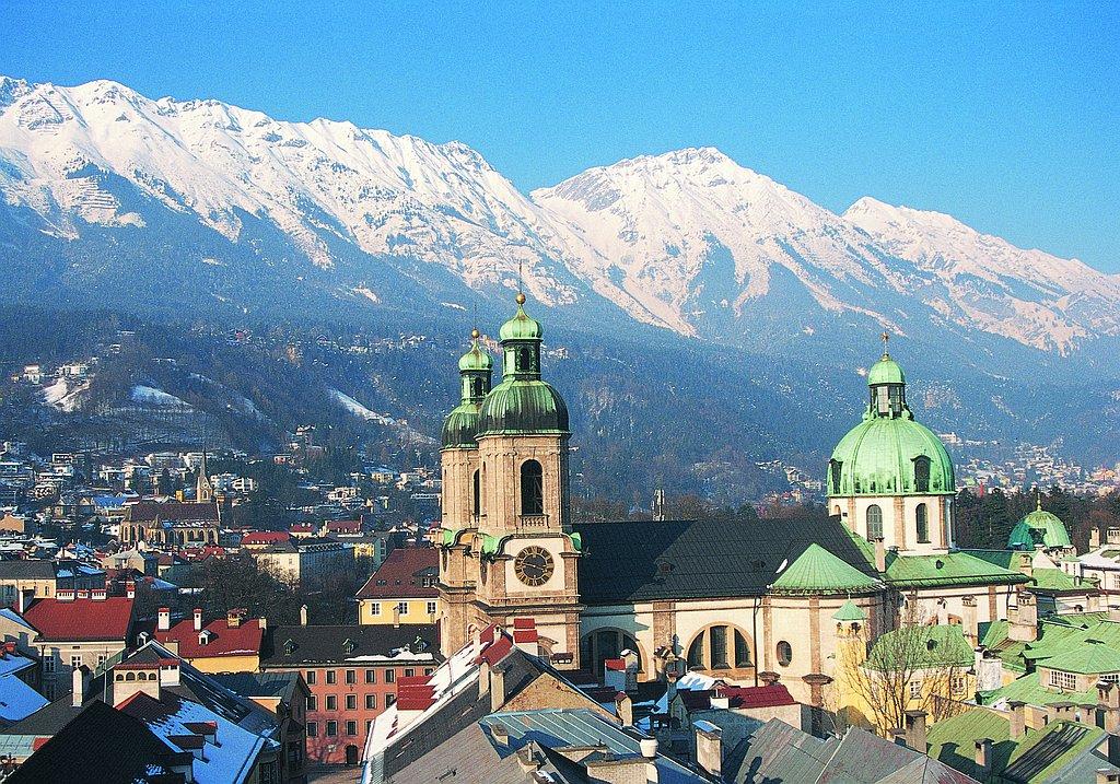 Innsbruck and Tyrolean Alps