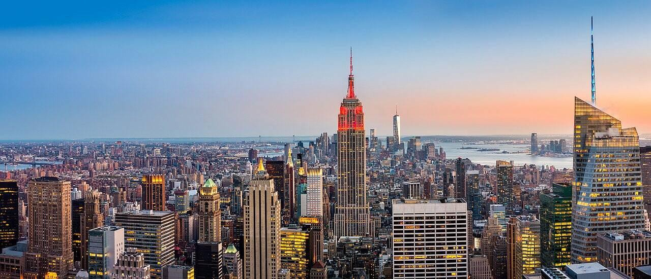 IQ weltweit New York Skyline