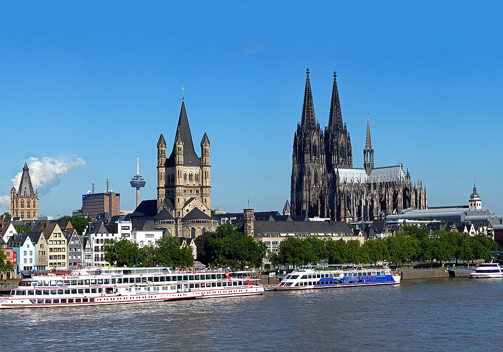 Cologne guided city trip