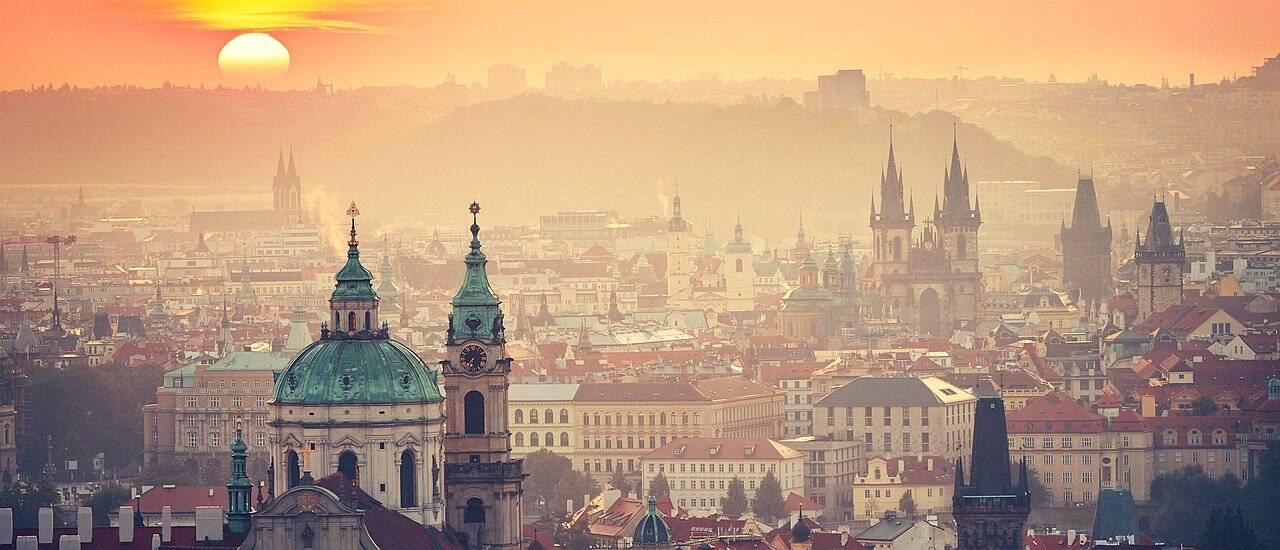 Skyline Prag Europareise