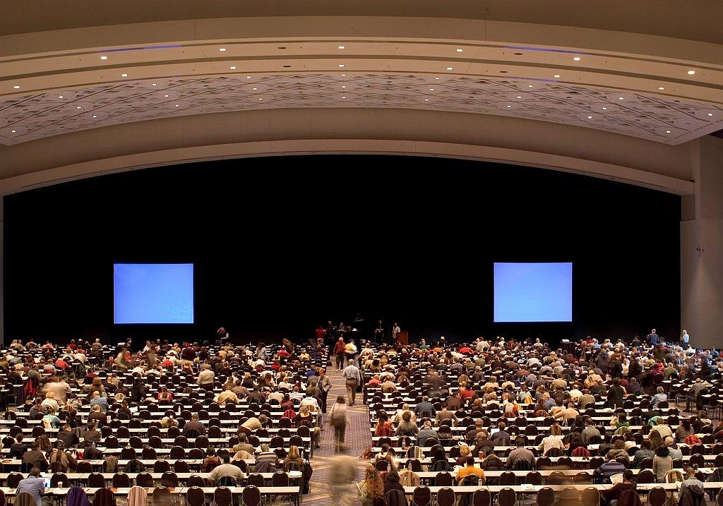 Large venue for conferences