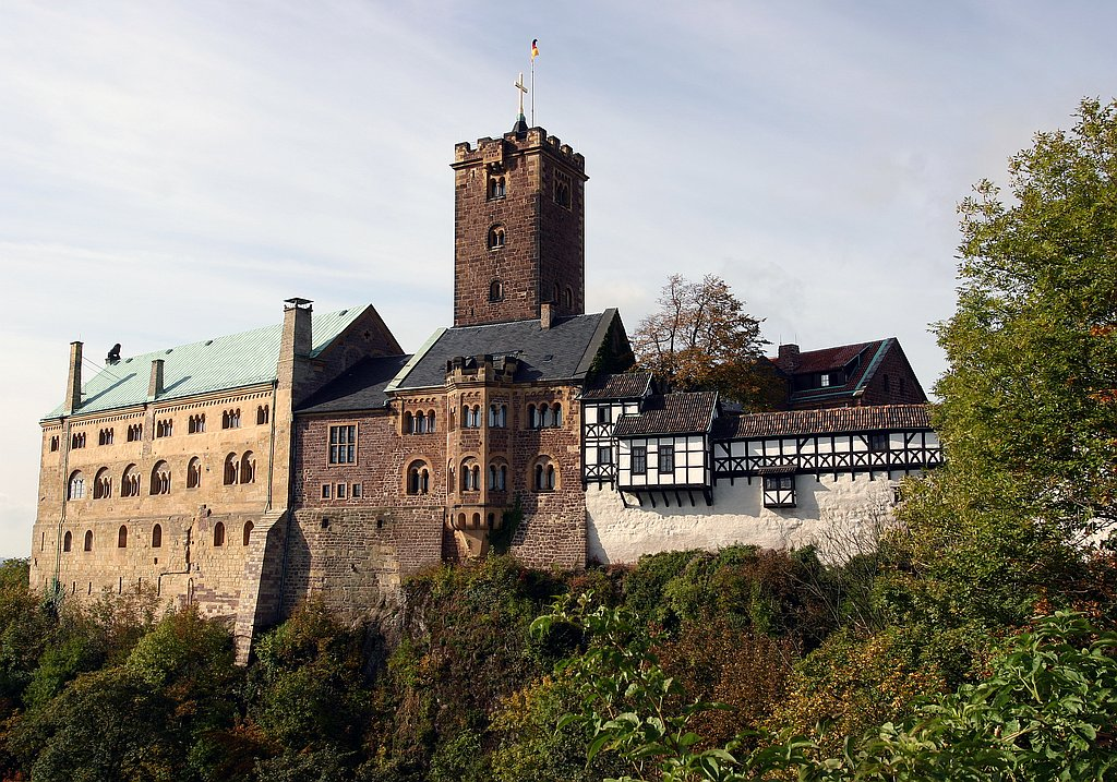 Pilgerziel Wartburg