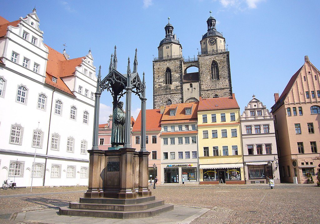 Luther pilgrim travel
