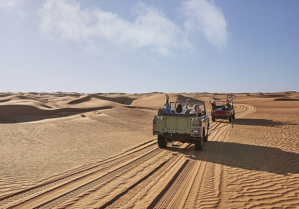 Desert safari as incentive event